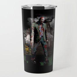 Halloween zombie Travel Mug
