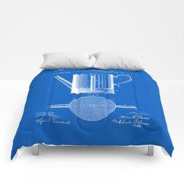 Coffee Press Patent - Blueprint Comforters