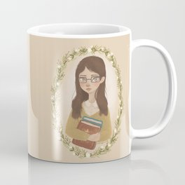 Literary Girl Coffee Mug