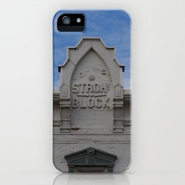 Stroh Block iPhone Case