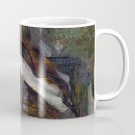 """Henri de Toulouse-Lautrec """"La Toilette (Madame Poupoule)"""" Coffee Mug"""