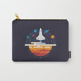 Space Shuttle & Solar System Carry-All Pouch