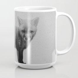 Little Ones: Fox B&W Coffee Mug