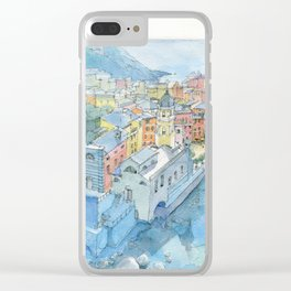 Vernazza, Cinque Terre, Italy Clear iPhone Case