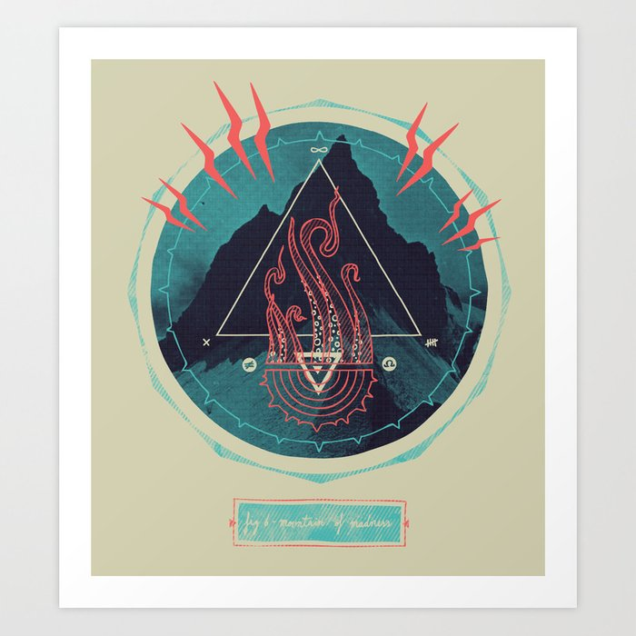 Mountain of Madness Art Print