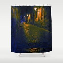LA NOTTE DI CATANIA - Sicilia Bedda Shower Curtain