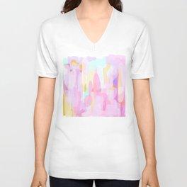 Abstract #1 Unisex V-Neck