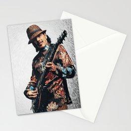 Carlos Santana Stationery Cards