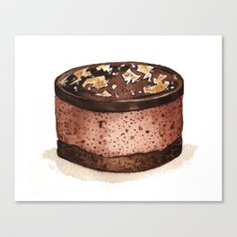 Chocolate Mousse Canvas Print