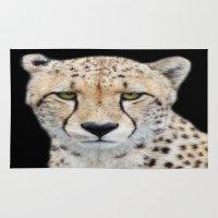 cheetah Area & Throw Rugs featuring Cheetah by Lynn Bolt