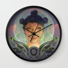 Those Who Came First Wall Clock