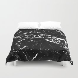 textured marble Duvet Cover