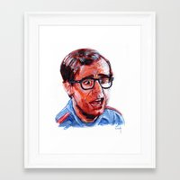 louis Framed Art Prints featuring Louis by Dylan Chudzynski