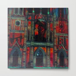 San Fran Duvet/Shower Metal Print