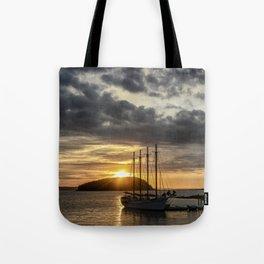 Sunrise Bar Harbor Maine Tote Bag