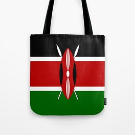 Kenyan Flag Tote Bag
