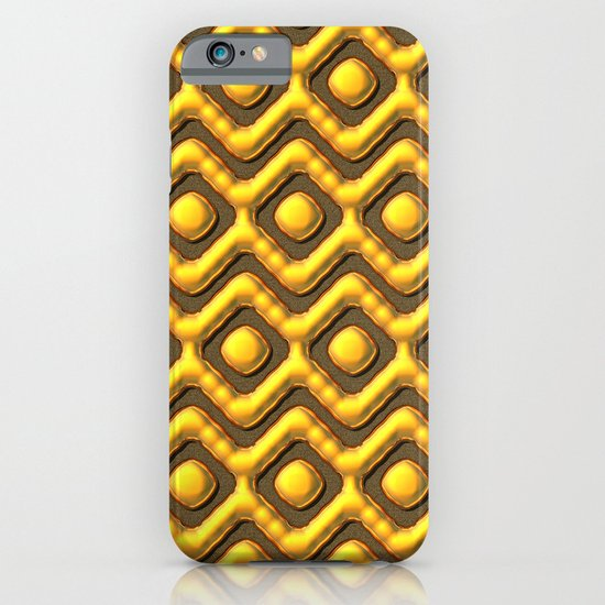 Liquid Gold Pattern iPhone & iPod Case