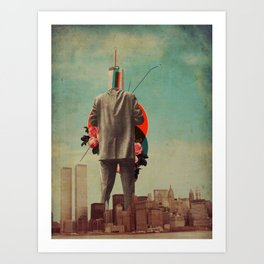 Cervantes Art Print