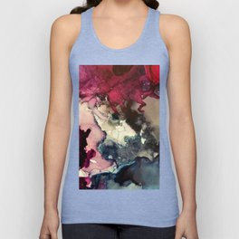Dark Inks - Alcohol Ink Painting Unisex Tank Top