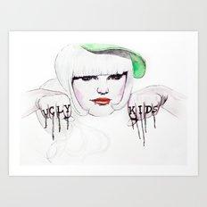 Ugly Kids Art Print