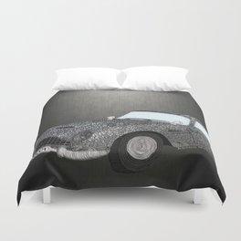 James Bond Aston Martin DB5 Duvet Cover