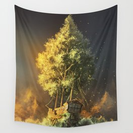 Second Life Wall Tapestry