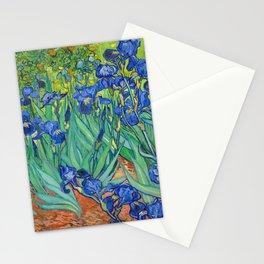 Vincent Van Gogh Irises Painting Stationery Cards