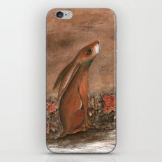 Hare and Moon iPhone & iPod Skin