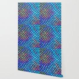 Colorful Mermaid Scales Wallpaper