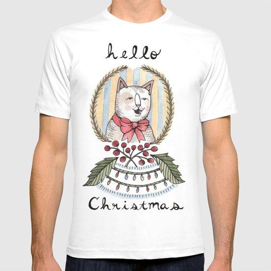 hello christmas T-shirt