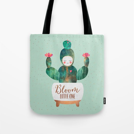 Bloom Little One Tote Bag
