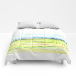 Sea meadow Comforters