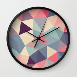 Poison Apple Tris Wall Clock