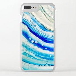 Abstract 24 Clear iPhone Case