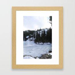 Bear Lake II Framed Art Print