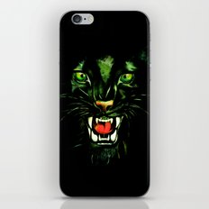 Fierce and Powerful Black Panther iPhone Skin
