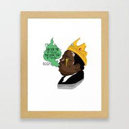 For The Funk Framed Art Print
