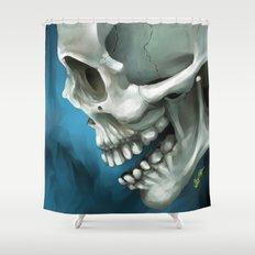 Skull 3 Shower Curtain
