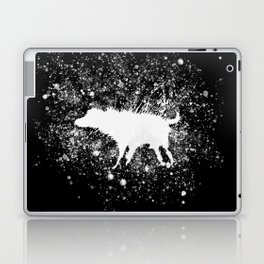 Banksy Dog Splash Paint Artwork Reproduction, Posters, Prints, Bags, Mugs, Postcards, Tshirts, Men, Laptop & iPad Skin