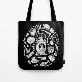 Songs of the Dark Lantern Tote Bag