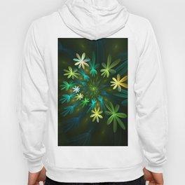Fantasy Flowers, Fractal Art Hoody