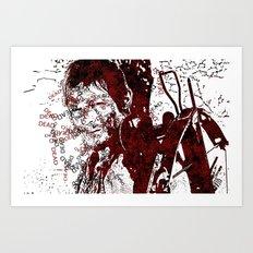 Walking Dead: Daryl Art Print