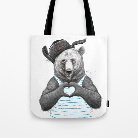 from russia with love Tote Bag