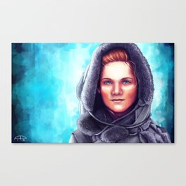 Kissed by Fire Canvas Print
