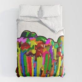 Mound of Mushrooms Comforters