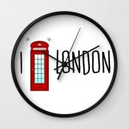 Love London Wall Clock