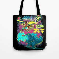 MY NEIGHBOR GOJIRA Tote Bag
