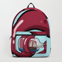 The Kraken's Day Off Backpack