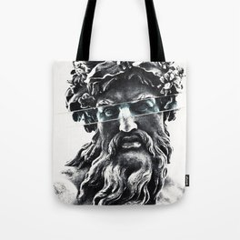 Zeus the king of gods Tote Bag