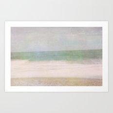 Beachy Feeling Art Print
